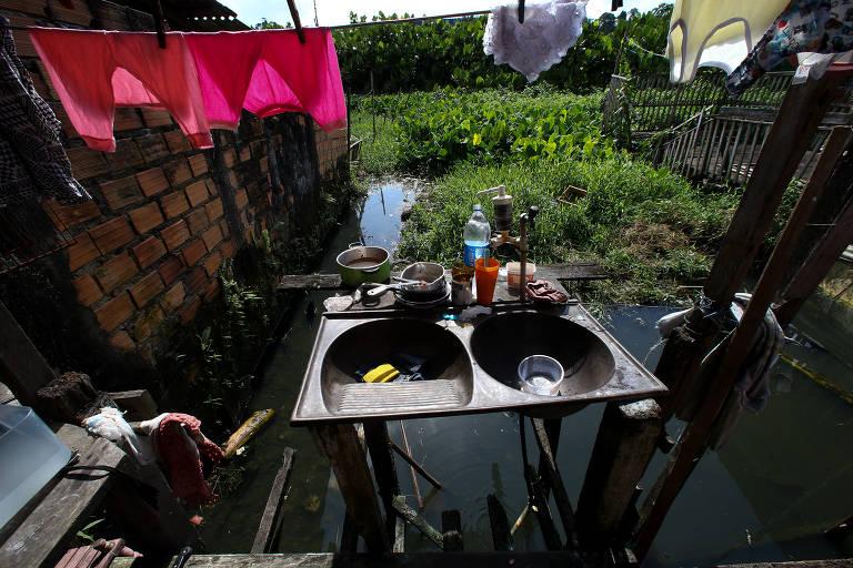 SUS gasta $1 bi com doenças por falta de saneamento