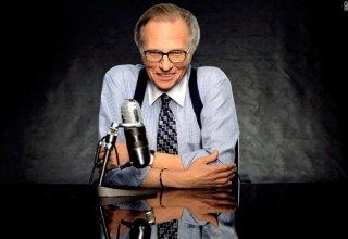 Apresentador Larry King
