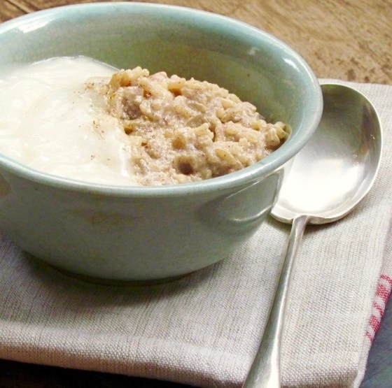 rise rice pudding