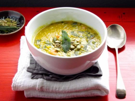 winter detox soup