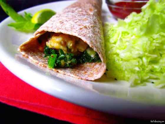 Kichari Burrito