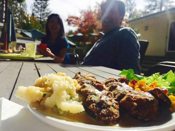 Lunch in the Sierras