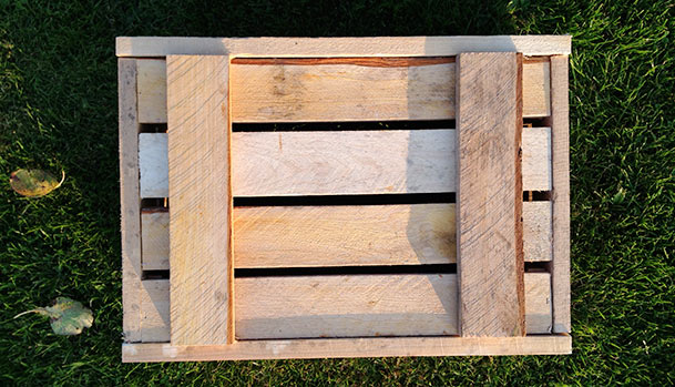 Wooden boxes, homemade