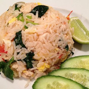 Fried rice, Thai style