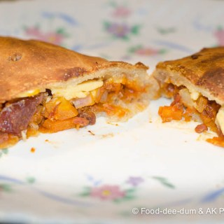 "Stuffed Pizza ""Samosas"""