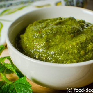 Raw Mango & Mint Chutney