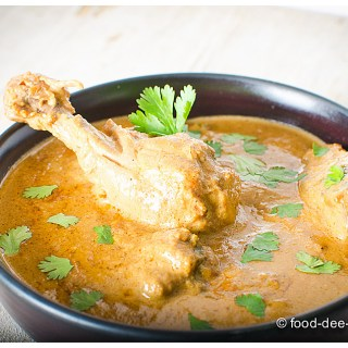 Murgh Badami: Chicken in Almond Curry