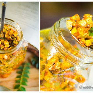 Instant Raw Mango Pickle