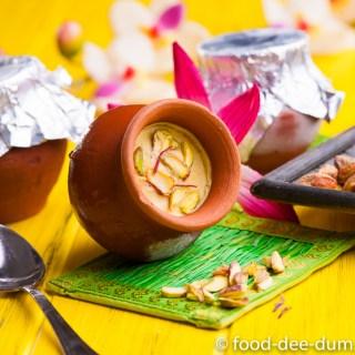Amrood Kesar Kulfi / Guava Saffron Kulfi
