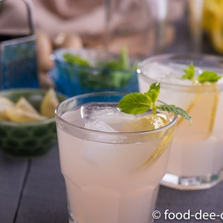 Fresh Ginger Lemonade