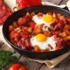 Kartofler og chorizo - Lækker brunch