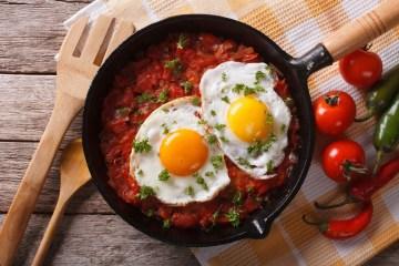 Mexicansk morgenmad - Huevos rancheros
