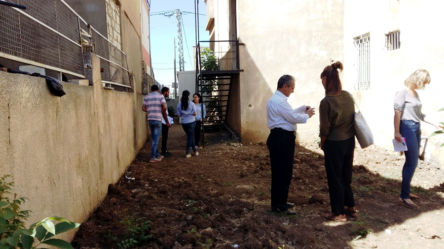 Despite its small size, the garden of Baraem al-Moustakbal school has a great potential to become a learning garden!