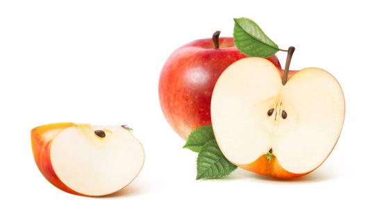 リンゴの注目の栄養成分と効果効能!皮に多くふくまれているポリフェノールを摂ろう