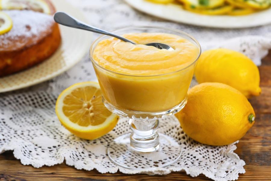 Десерт «Лимонный крем»