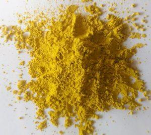黄色のクロレラパウダー