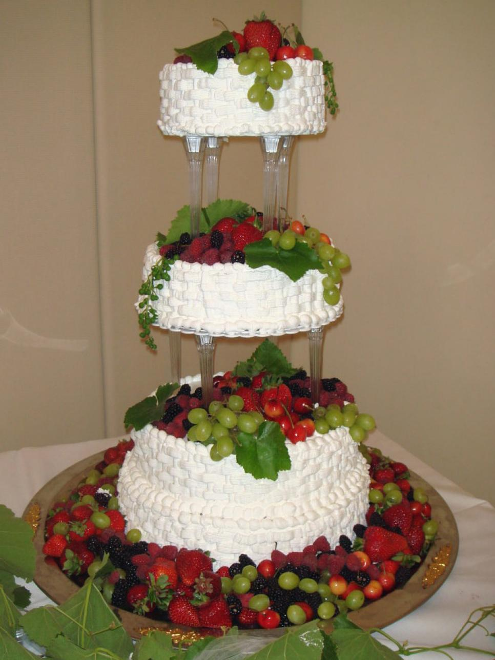 Creative Wedding Cakes  Food Network Recipes  Easy