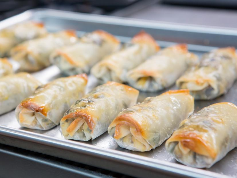 southwestern egg rolls with