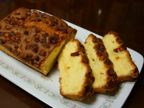 Butter Cake with Mixed Peel