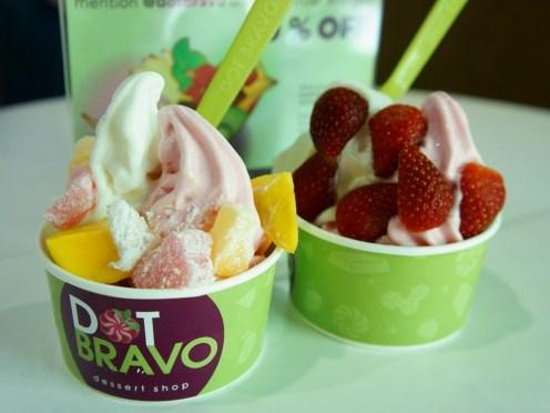 Frozen Yoghurt Dot Bravo