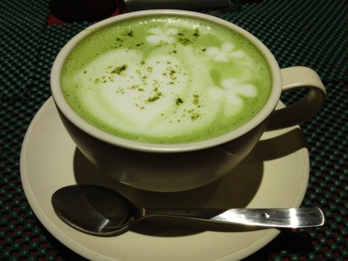 Milky Green Tea Hot