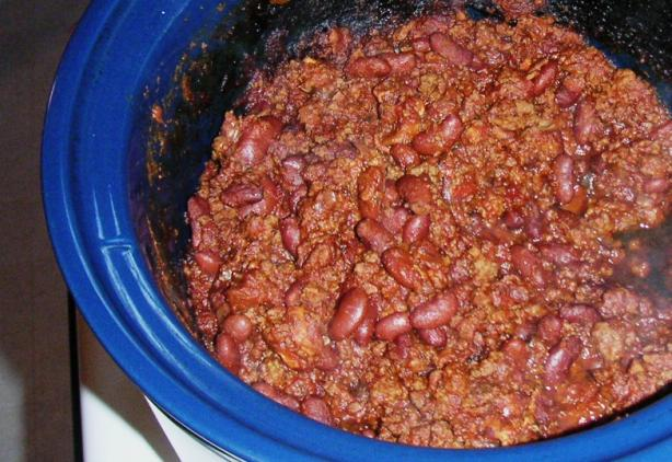 Crock Pot Chili Con Carne With Beans