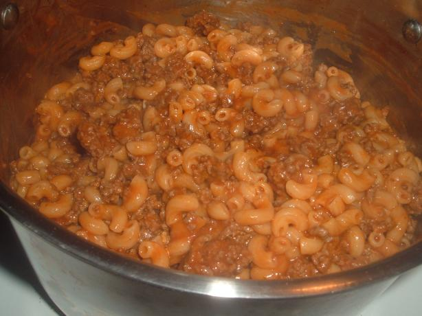 Homemade Beefaroni
