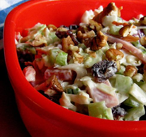 About This Recipe -   Ham-Cole Slaw Salad
