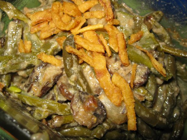 Green Bean and Pearl Onion Casserole