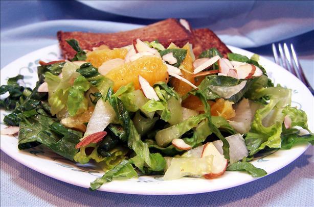 Tossed Romaine and Orange Salad