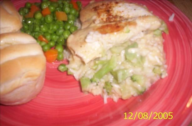 Campbell's 15-Minute Chicken, Broccoli & Rice Dinner