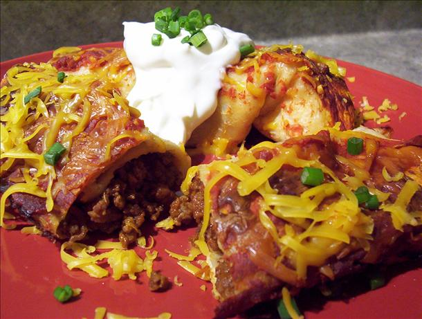 Easiest Beef Enchiladas Ever!