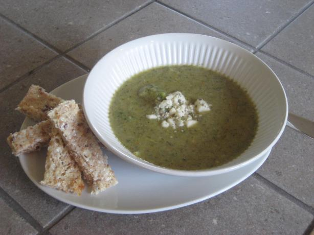 About This Recipe -   Creamless Broccoli Soup