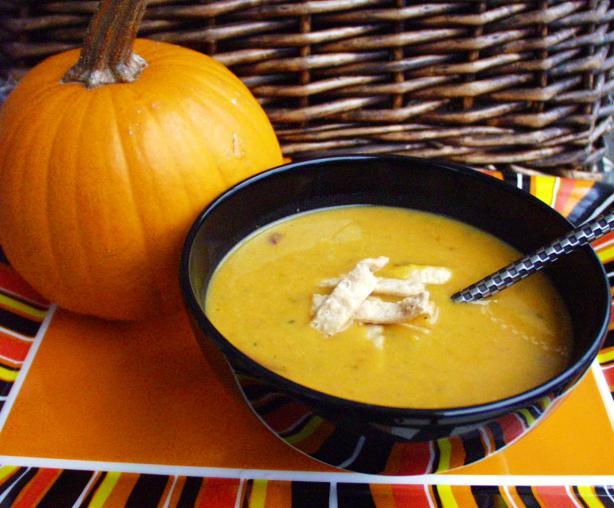 Pumpkin Soup with Asian Flavors
