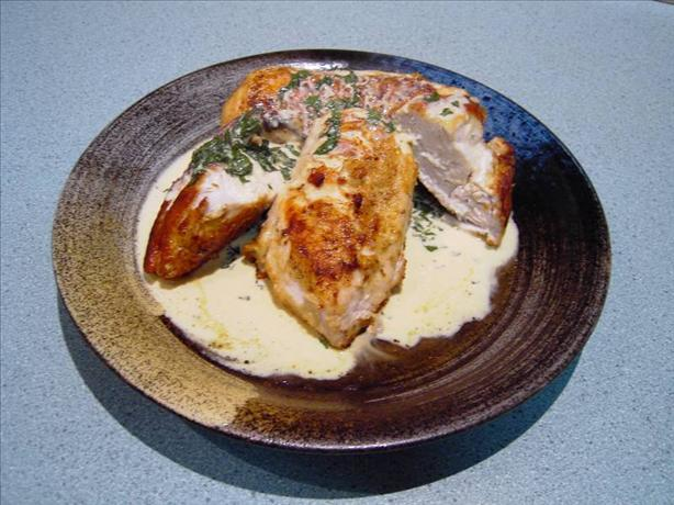 About This Recipe -   Chicken With Basil And Parmesan