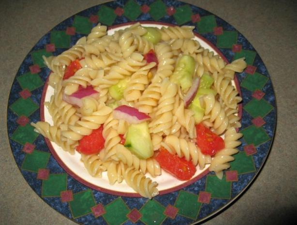 About This Recipe -   Sweet and Sour Pasta Salad