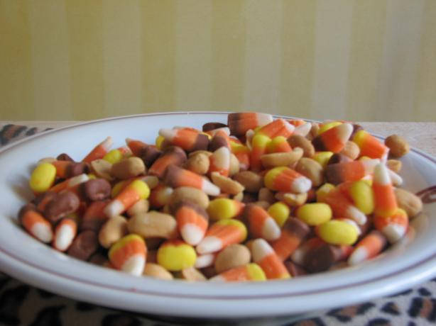 Halloween Party Treat (Candy Corn and Peanut Mix). Photo by Bonnie G #2