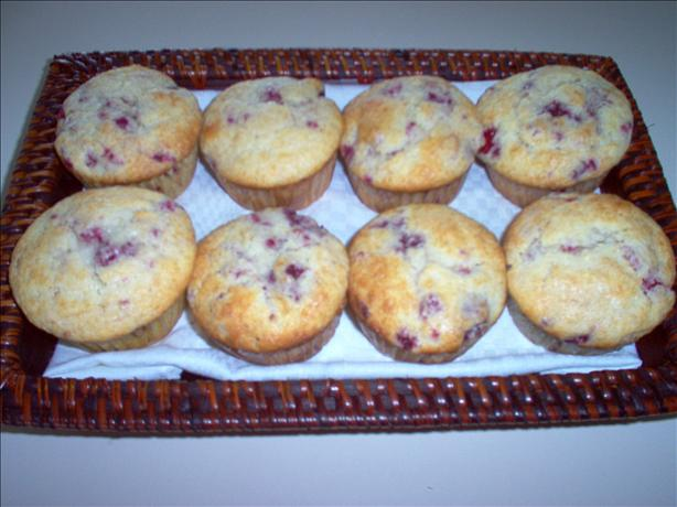 About This Recipe -   Lemon Raspberry Muffins