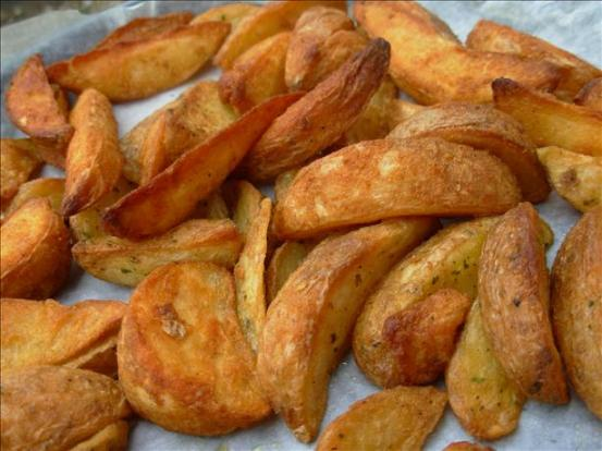 Spicy Baked Chips