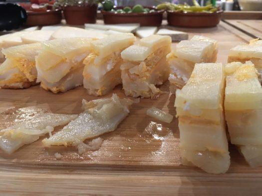 """Deceptive """"Spanish omelette"""""""