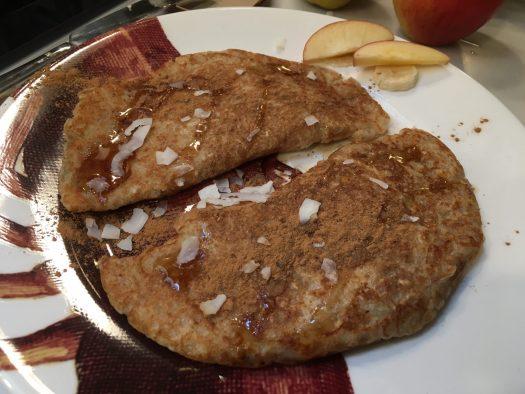 Bastardised Staffordshire oatcakes