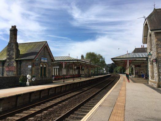 Grange-over-sands train station