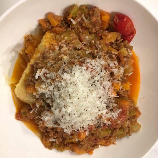 Ragù e polenta