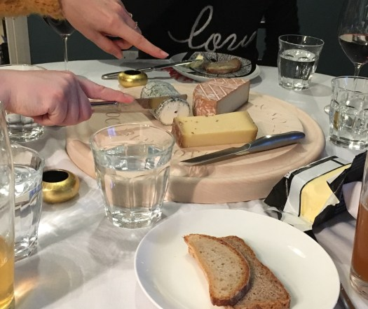 Cheese starters with home made breads