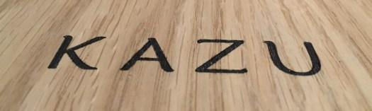 KAZU menu title