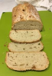Flattish bread