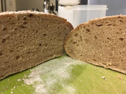 Spelt bread - inside