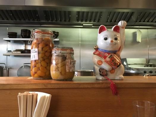 Cat and fermentation at Koya Bar
