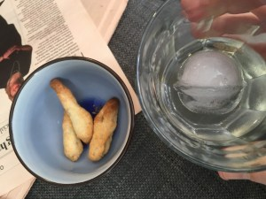 Vermouth with saladitos