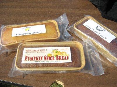 Mira Mesa Farmer's Market - Mama Houli & Sister T breads